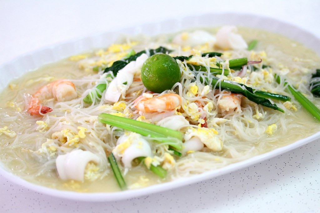 Seafood White Bee Hoon: You Huak