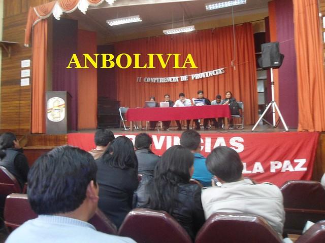 ELE Y LA II CONFERENCIA DE MAESTROS URBANOS LA PAZ 1