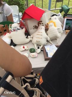 CIRCLEG 香港 遊記 九龍灣 零碳天地 PINKOI市集 手作市集 圖文 繪畫 插圖  (5)