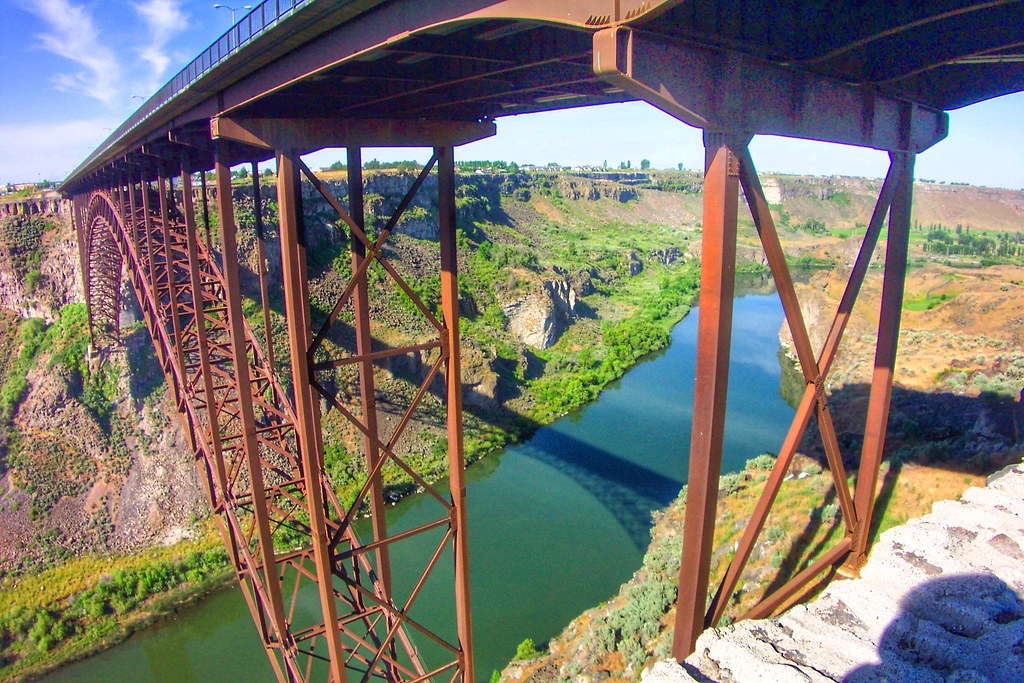 Perrine Memorial Bridge ~ Hightest Bridge in Idaho ~ Twin Falls