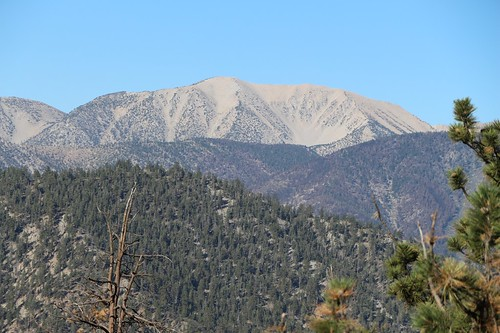 San Gorgonio from the PCT at Onyx Summit