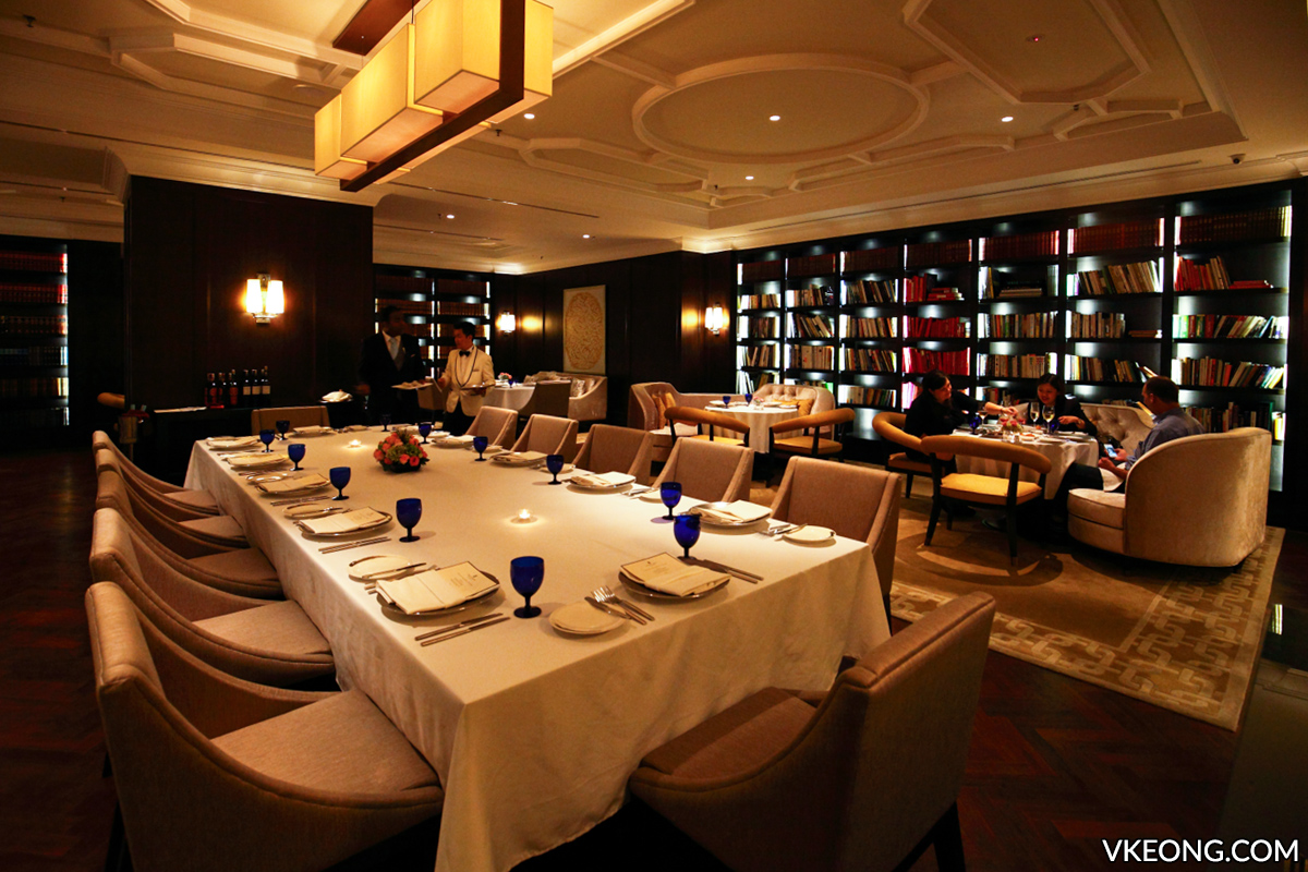 The Library Restaurant Ritz Carlton KL