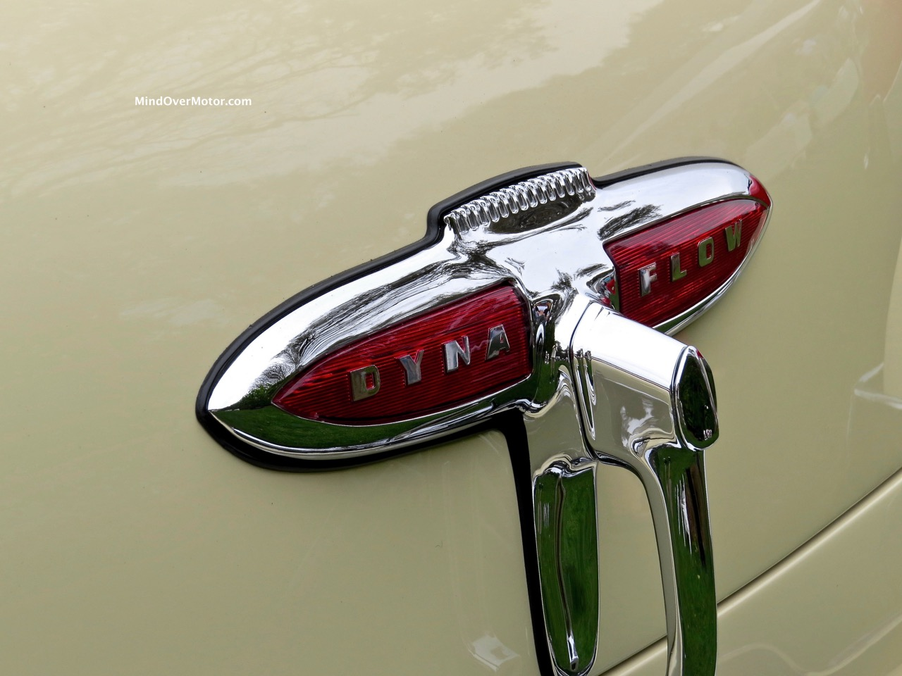 1949 Buick Roadmaster Rear Badge