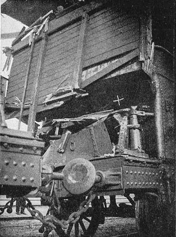 accidente tren la roda 1910 Collado foto 2