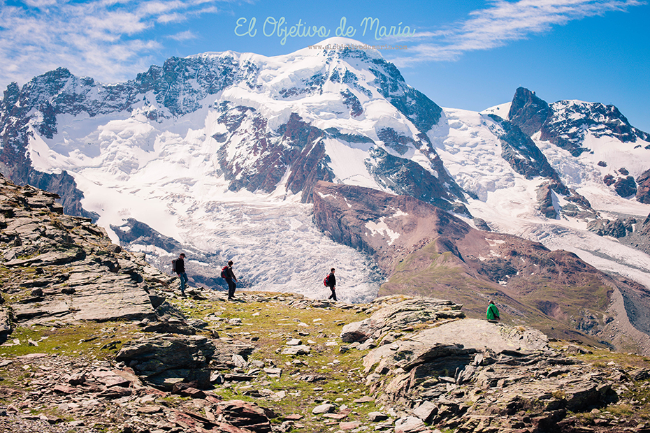 caminantes Zermatt