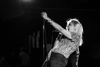 White Lung (with Plague Vendor, Bruiser Queen) at the Firebird 7/16/16