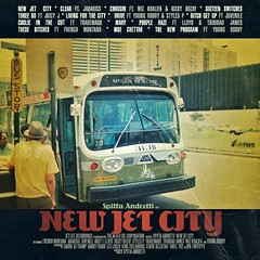 "Album Artwork - Curren$y ""New Jet City"" Tracklisting"