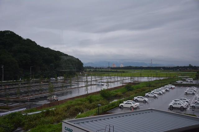 上越新幹線:本庄早稲田駅付近