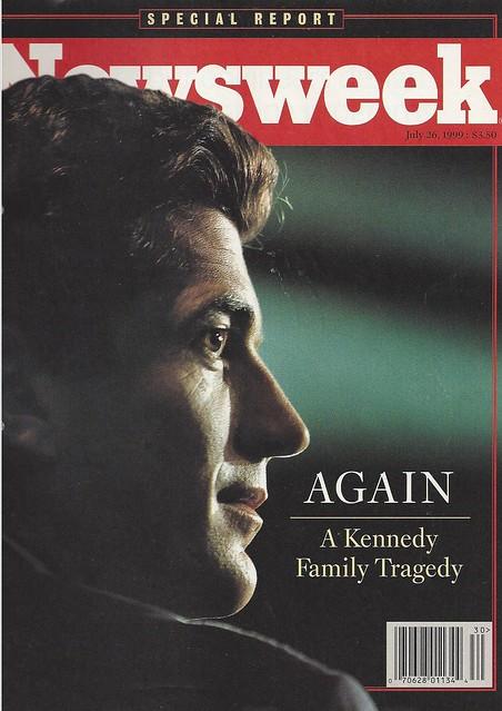JFK Jr Newsweek 26 07 1999
