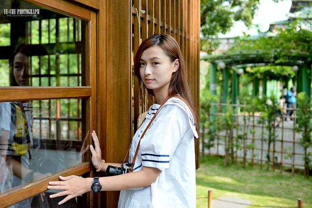 學生制服外拍:稻江商職
