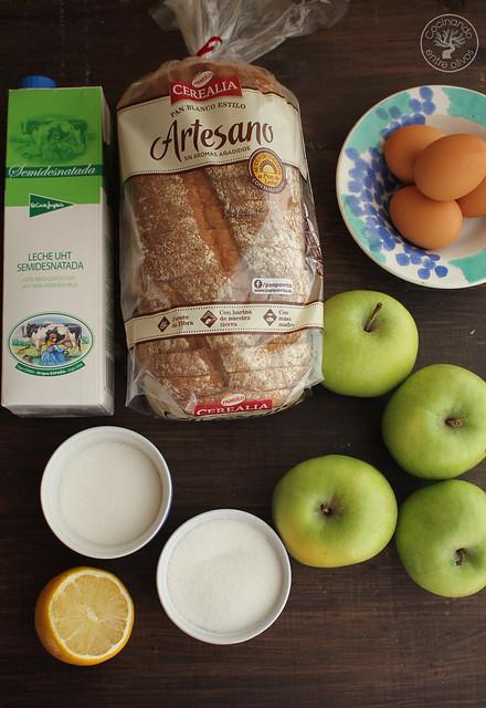 Tarta manzana y pan de molde micrrondas www.cocinandoentreolivos.com (10)