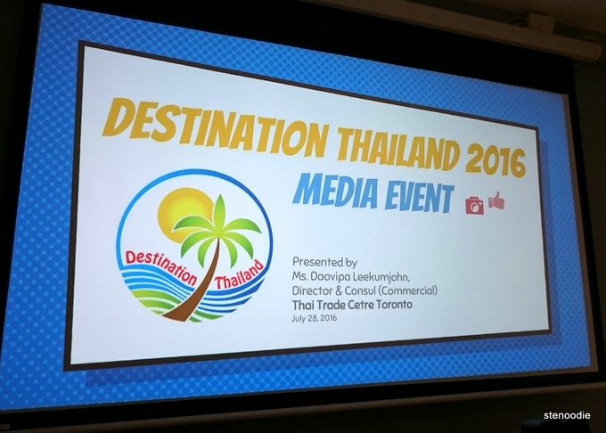 Destination Thailand 2016 Media Event