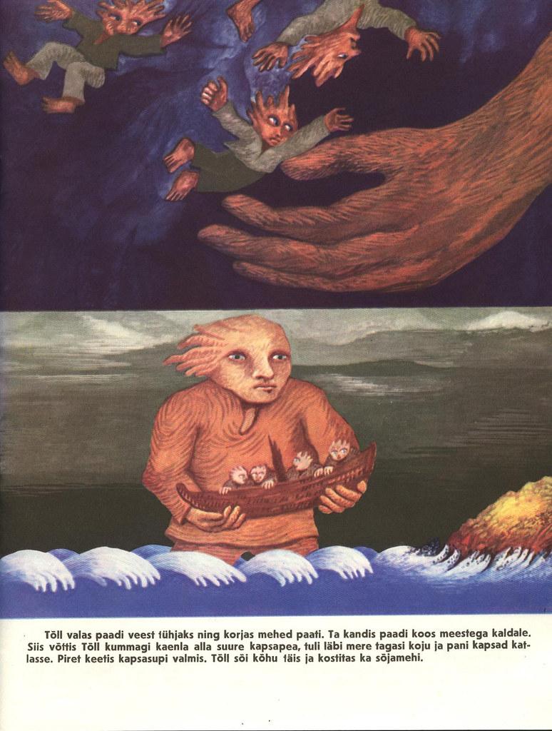 Tõll the Great - Page 08 - Written by Rein Raamat, Illustrated by Jüri Arrak, 1982