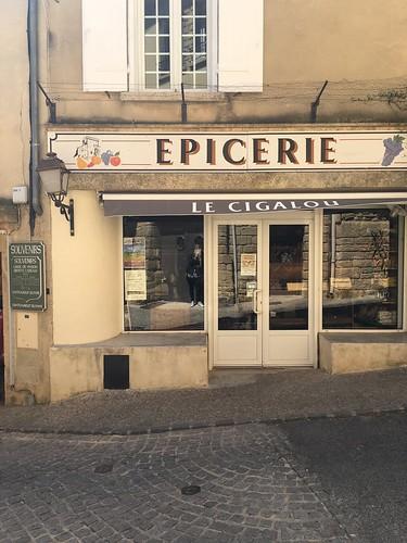 Spice shop in Châteauneuf-du-Pape