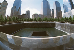 9/11 Memorial & Museum. New York. USA