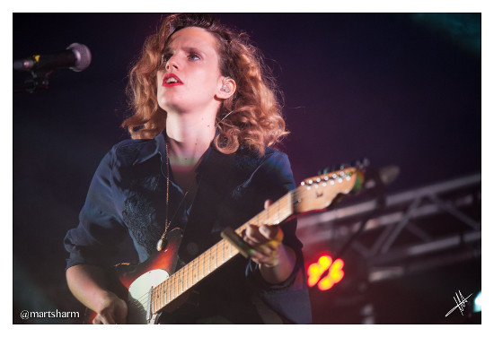 Anna Calvi Deer Shed 2016 / photo by Martin Sharman