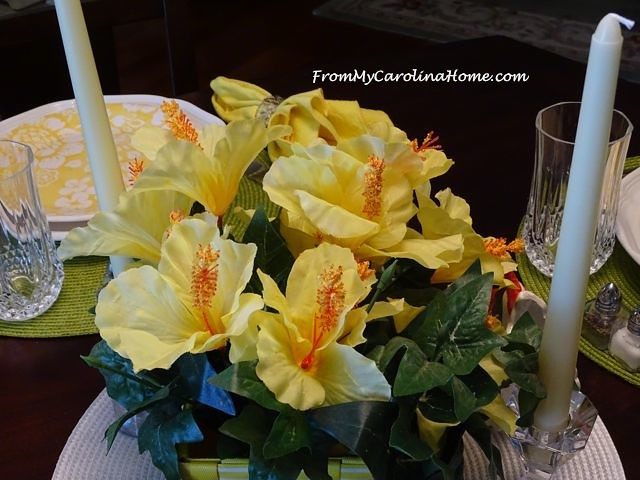 Sunny Yellow Summer Tablescape   From My Carolina Home