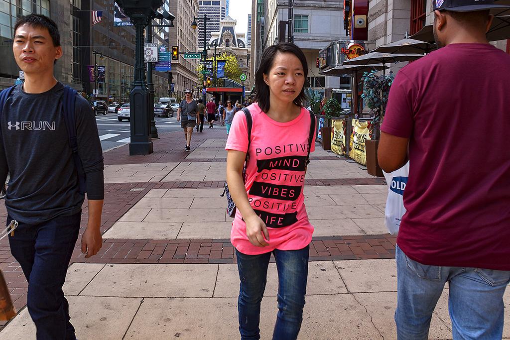 POSITIVE MIND POSITIVE VIBES POSITIVE LIFE--Center City