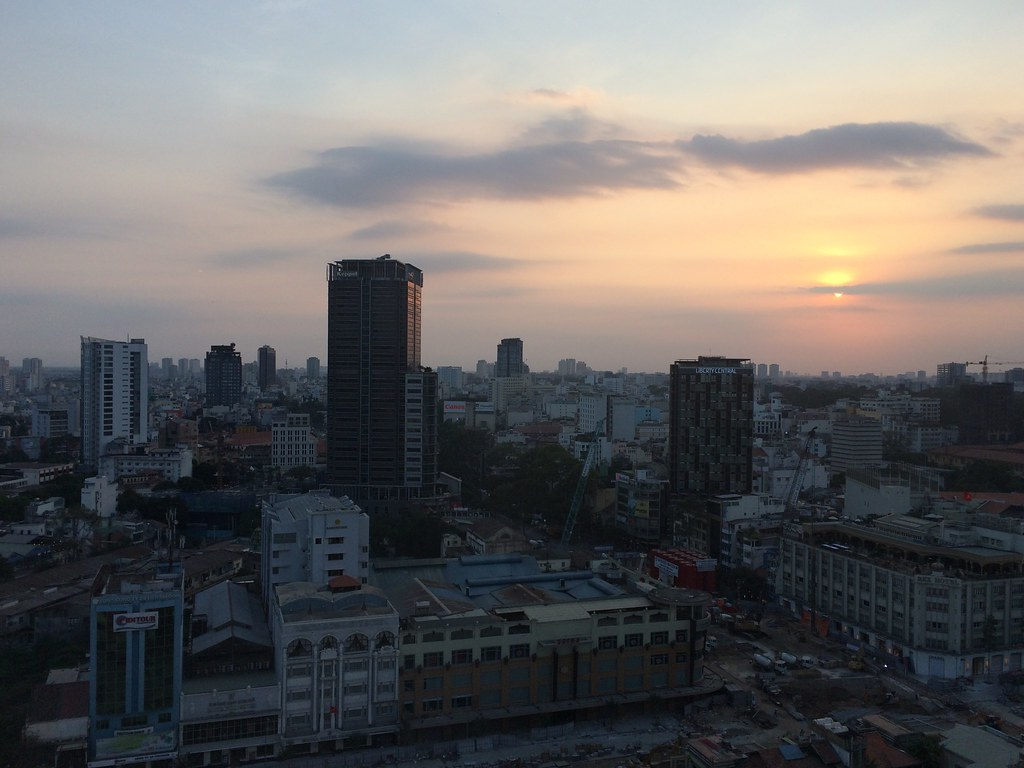 Saigon sunset