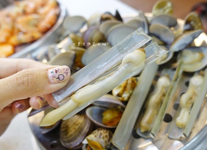 15雙月牌沙茶爐 双月牌沙茶爐 海鮮疊疊樂蒸籠宴  新莊美食 台南熱門美食