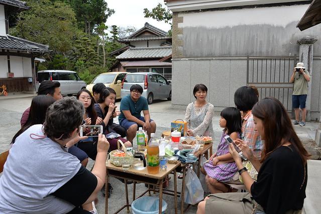 8月の展覧会の様子:Nancy Ryan Keeling、Wenting Tao