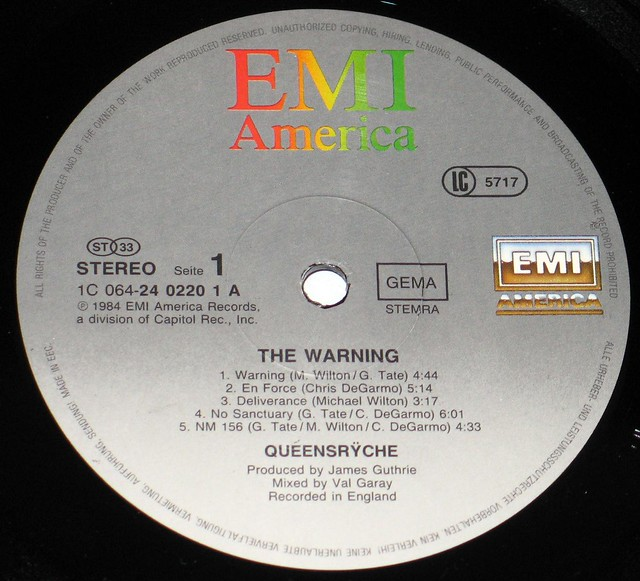 Queensryche The Warning