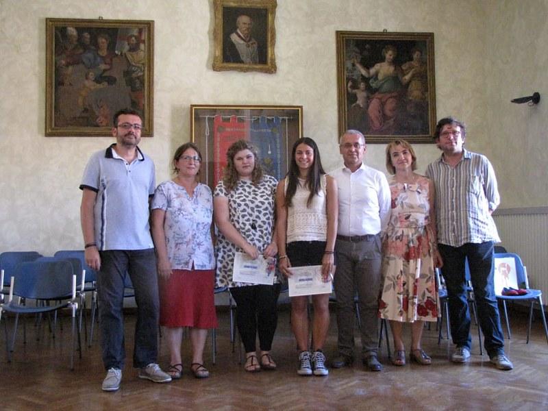 """L'amministrazione Comunale di Castel Bolognese ha ricevuto nella Sala consiliare le """"super mature"""" castellane"""