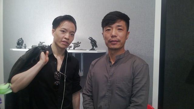 Wang Xinggang and Michael Andrew Law