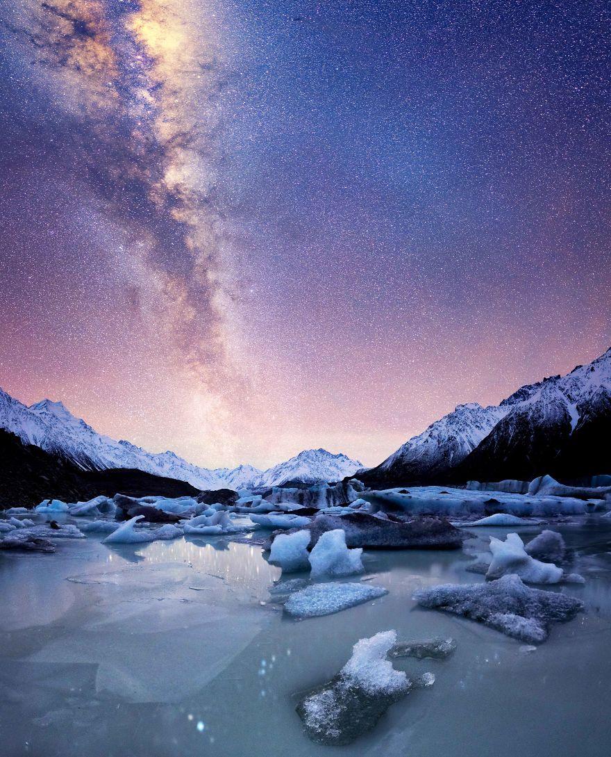 В погоне за звездами. Ночное небо в Новой Зеландии - ПоЗиТиФфЧиК - сайт позитивного настроения!