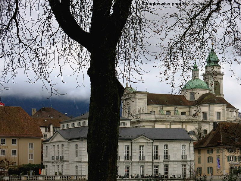 St. Urs Cathedral from Vorstadt, Solothurn