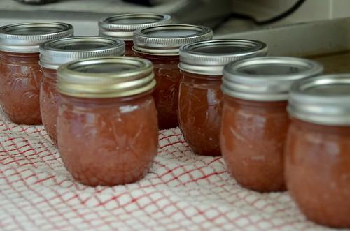 White Nectarine Jam Cool Down