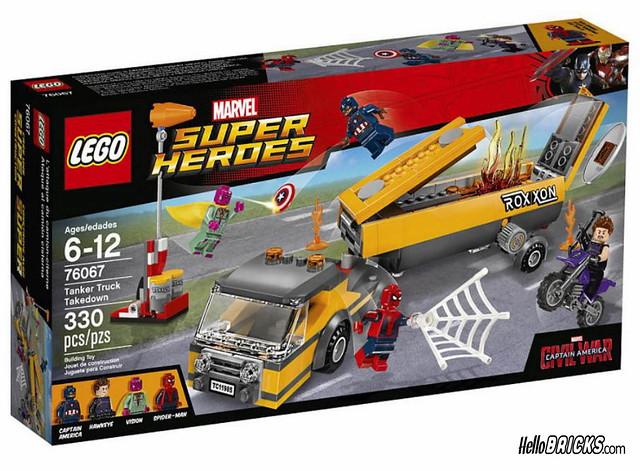 Lego 76067 - Marvel Super Heroes - Tanker Truck Takedown