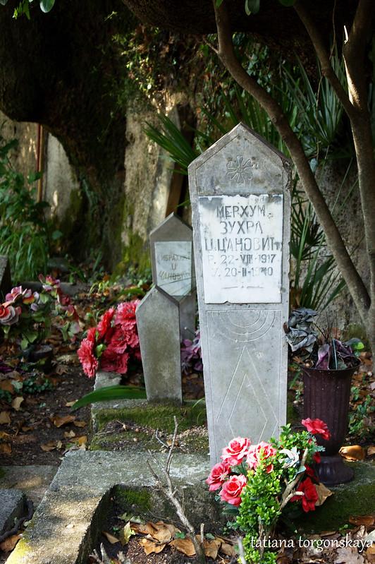 Надгробия Цановичей