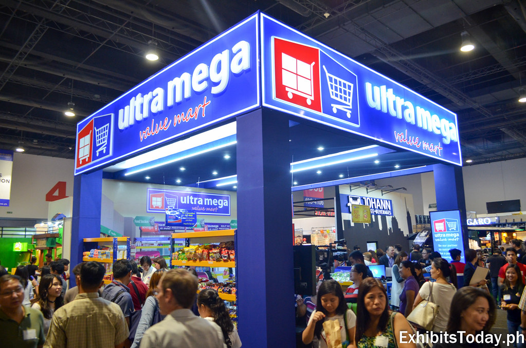 Ultra Mega Trade Show Booth