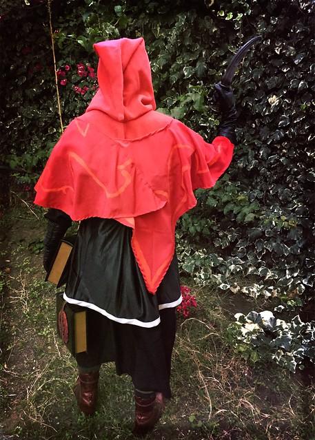 Cultist Costume Back