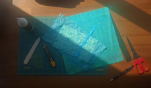 Why not make bookcloth on Saturday?