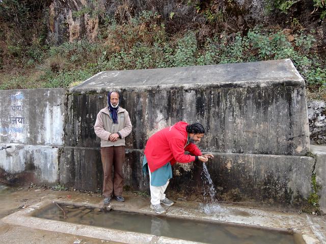 पटुड़ी गाँव का जलस्रोत