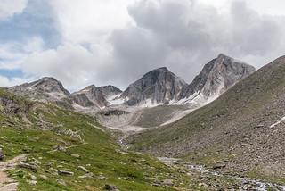 Texelgruppe, Meraner Höhenweg