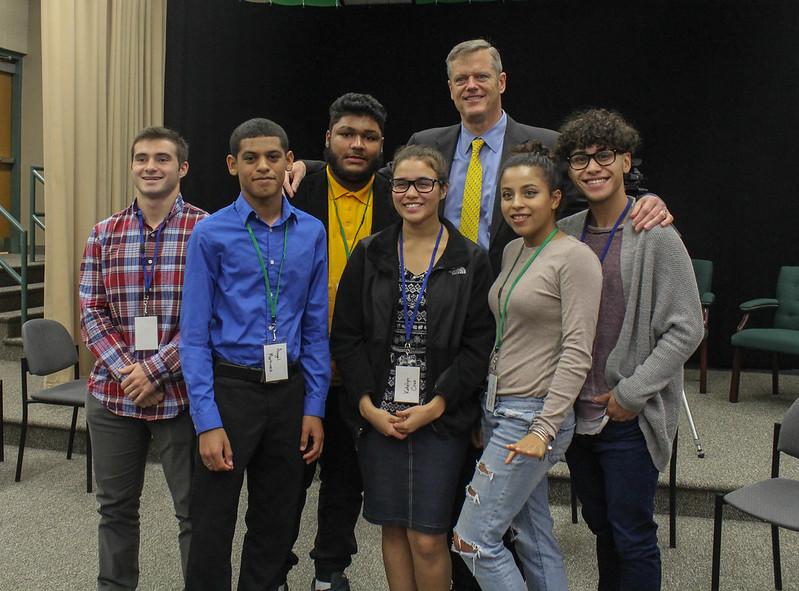 Holyoke High School Visit 10.04/16