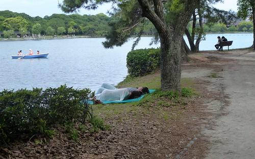 Jp16-Fukuoka-Lac-Parc Ohori (9)