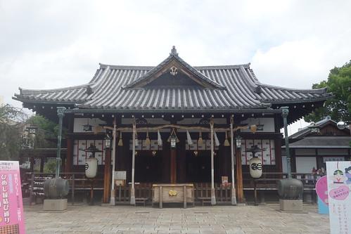 播磨国総社・射楯兵主神社拝殿