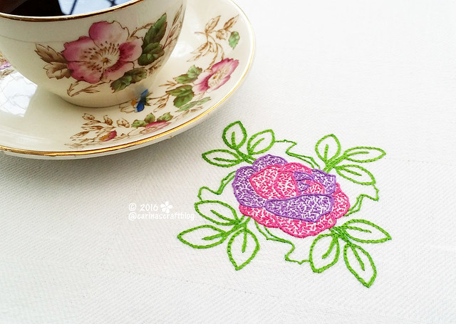 Table mat from Romantic Motifs