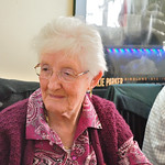Nan at her 80th meal