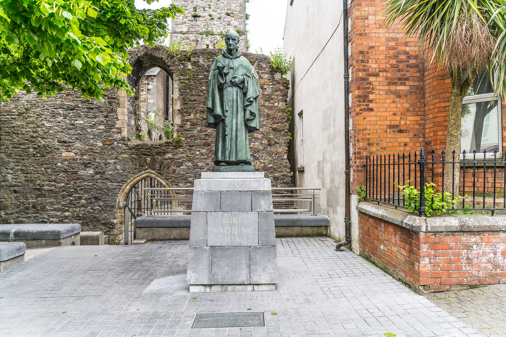 LUKE WADDING THE MAN RESPONSIBLE FOR ST. PATRICKS DAY [WATERFORD CITY]-122283