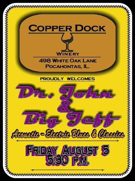 Dr. John & Big Jeff 8-5-16