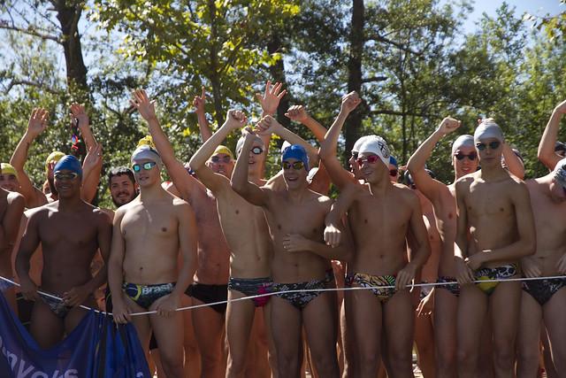 2016 - Travessia masculina a l'estany de Banyoles