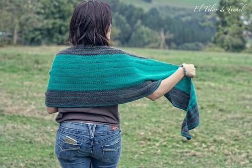 Pearldancer shawl