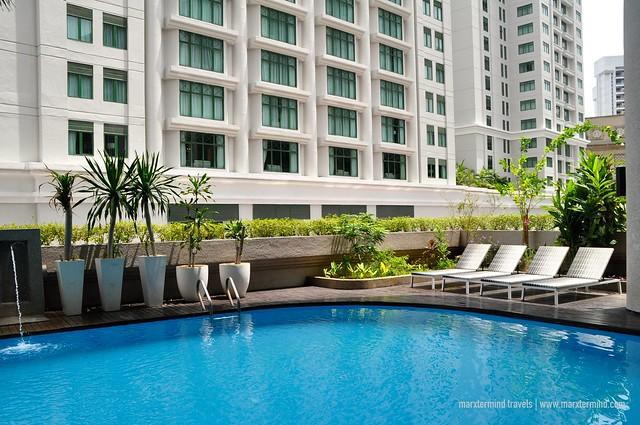 Dorsett Kuala Lumpur Outdoor Swimming Pool