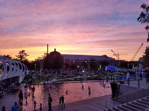 Friday Night Concert Sunset
