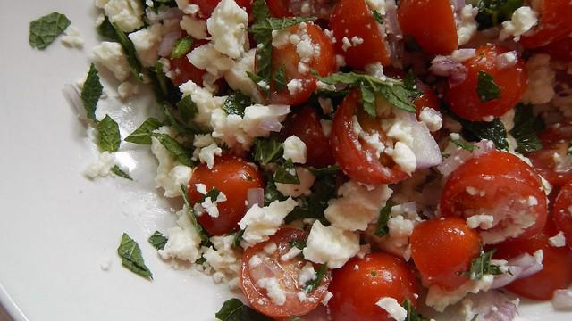 Tomato Mint Salad 10